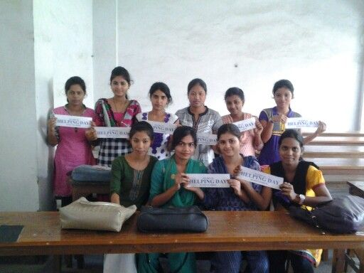 #HelpingDay #30September #CottonCollege #Guwahati #India