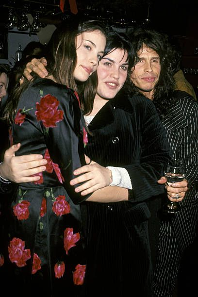 Liv Tyler and Mia Tyler with their father Steven Tyler