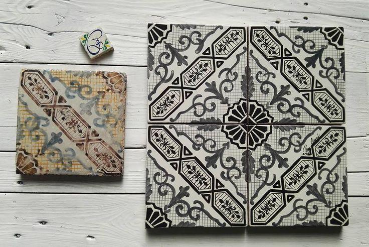 Maioliche dipinta a Mano COMED Ceramiche #maiolica #majolica #tiles #ceramics #art #handmade #madeitaly