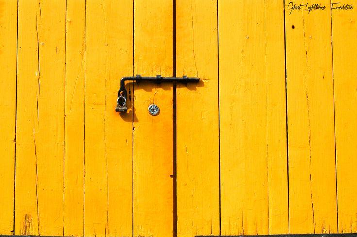 Yellow Door in Suomenlinna #Helsinki #Finland #Door #Wood #Yellow