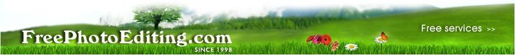 Photo editing and retouching since 1998. Quick editing is free.