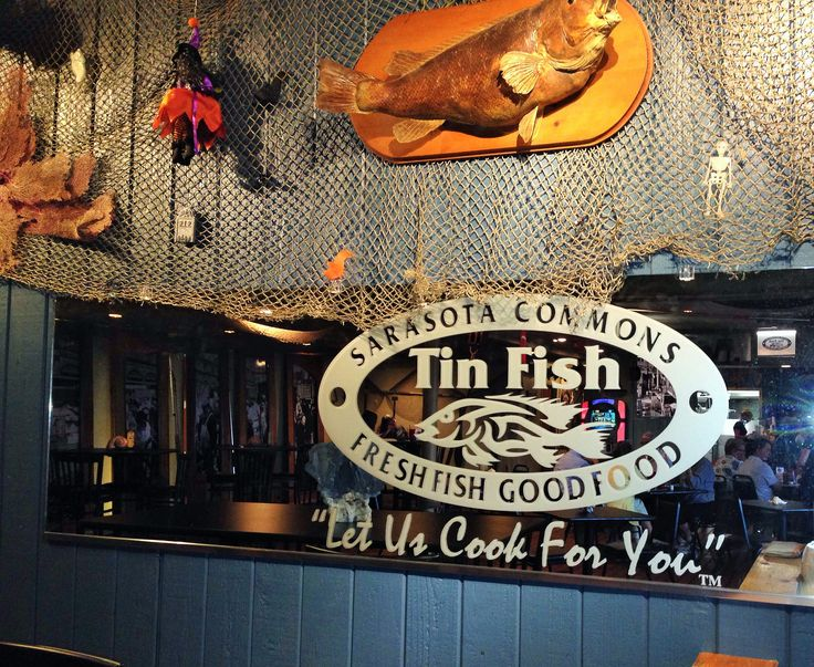 93 best florida where the locals eat images on pinterest for Tin fish restaurant
