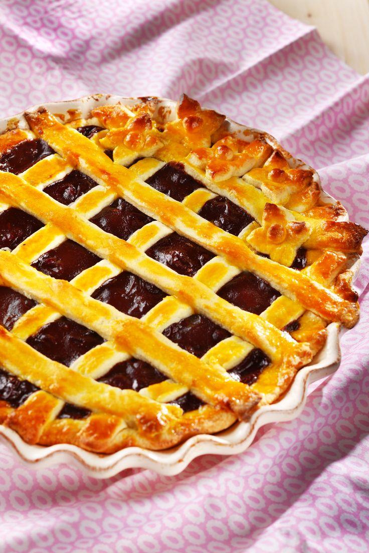 Chocolate - cherry pie Photo: Zita Csigó