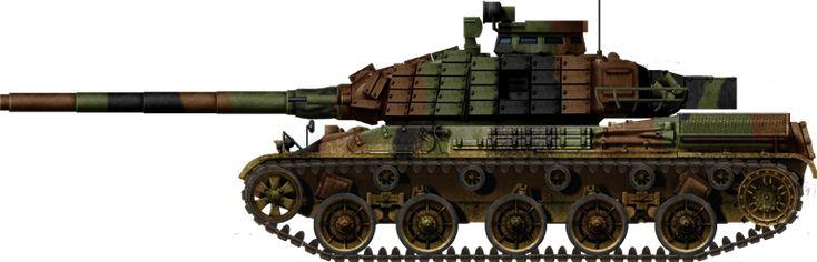 AMX-30B2 BRENUS ERA 1995
