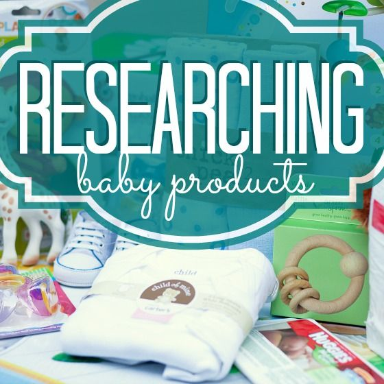 Researching Baby Products