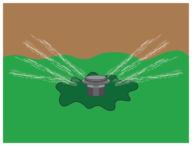 how to turn on hunter sprinkler system
