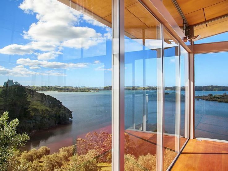 Best Waterfront Luxury Real Estate Images On Pinterest - An amazingly beautiful modern waterfront house from new zealand