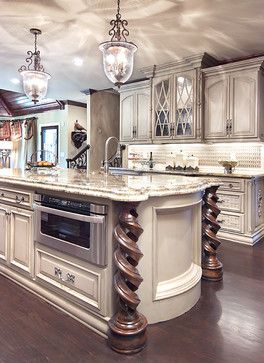 Italian Luxury - kitchen - atlanta - Cynthia Porche Interiors