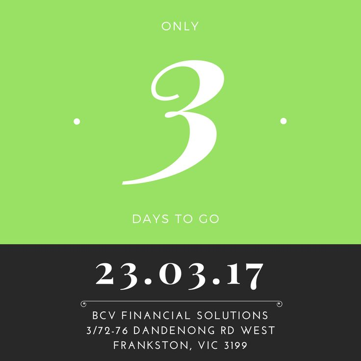 Three days to go! Have you got your ticket? http://bit.ly/2mqgd5n