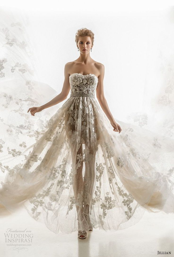 630 best half sheer wedding gowns for the daring bride images on jillian 2018 wedding dresses junglespirit Gallery