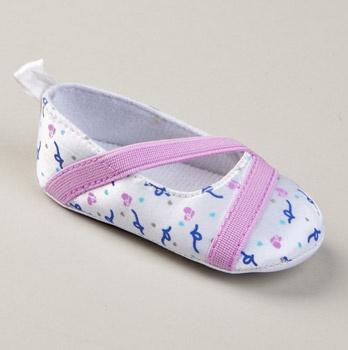 Rocawear ballerina crib shoes...too freakin' cute!!!