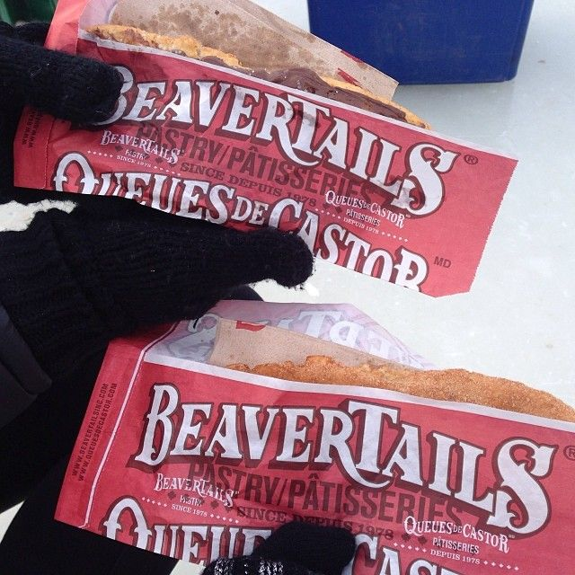 Canal moments...with BeaverTails pastries! Instagram photo by @taylorfinderup (Taylor Finderup)