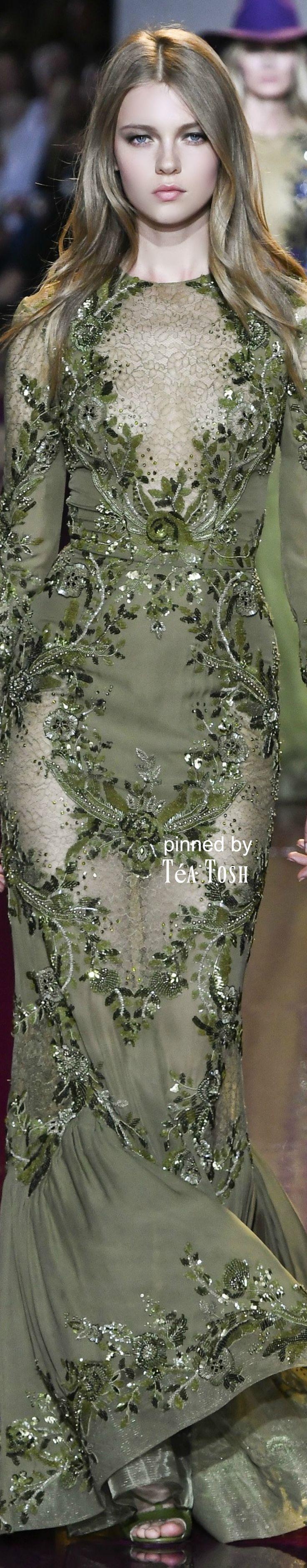 ❇Téa Tosh❇Zuhair Murad, Fall 2016, Couture Fashion
