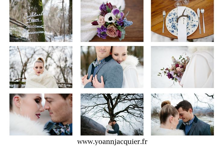 shooting, inspiration, mariage,snow, neige, hiver, winter, wedding, june the bride, juliette deleu faramond, robe de mariée