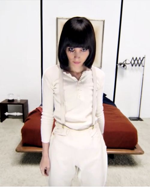 Rooney Mara as Alex from Clockwork Orange for New York Magazine