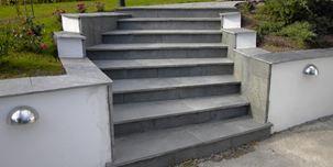 Trappor & Entréer - Stenarna för att bygga granittrappor & betongtrappor - Molnsätra
