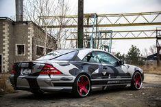 Mercedes CL500 by ZabixMix
