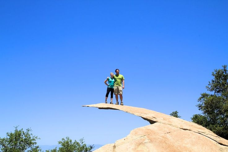 Potato Chip Rock: Mt Woodson Summit in San Diego