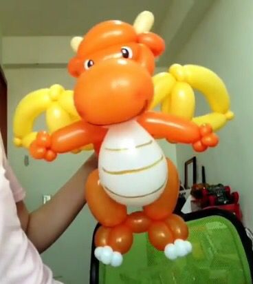 Flying dragon balloon twist tutorial - changsunny