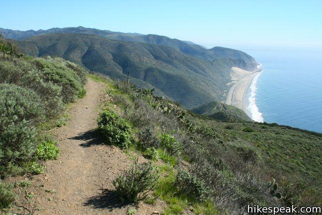 La Jolla Canyon Loop, Mugu Peak Trail - Point Mugu State Park - Santa Monica Mountains