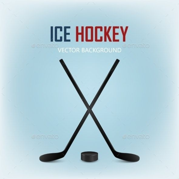 Two Crossed Hockey Sticks And Puck Ad Hockey Aff Crossed Puck Sticks Hockey Stick Hockey Puck