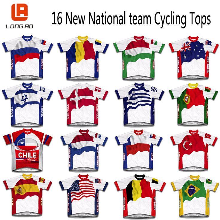 2016 USA Cycling Shirt ESPANA Équipe Nationale Espagne Cyclisme Maillot Ropa Ciclismo Vêtements de Cyclisme Vélo De Route Usure Vélo Jersey(China (Mainland))