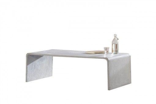 Woonstijl Industrieel | Betonnen tafel | #beton #concrete #salontafel #coffeetable #industrial #design #interior