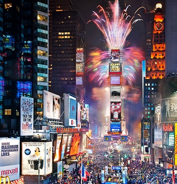 New York City on New Year's Eve. One day, I'll be there.
