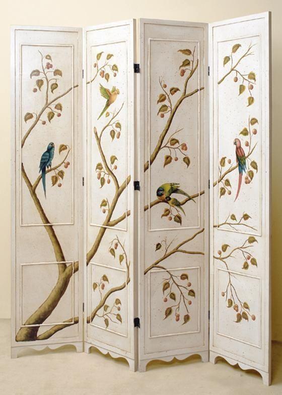 Las 25 mejores ideas sobre puertas interiores pintadas en - Decoracion con biombos ...