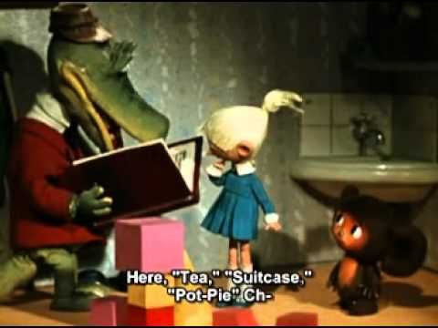 Cheburashka (Russian: Чебура́шка; IPA: [tɕɪbʊˈraʂkə] ) is a character in children's literature, from a 1966 story by Soviet writer Eduard Uspensky. Cheburashka with  English Subtitles
