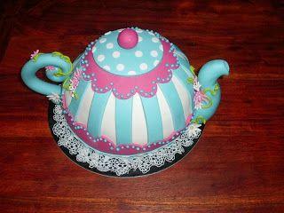 La Boutique Della Torta: La Teiera, Teapot Cake