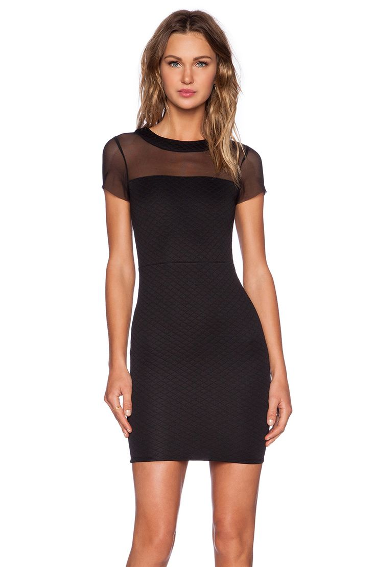 Navy short lace mini summer dress dresses elegant party vestidos brand - Donna Mizani Donna Mizani Quilted Mini Dress In Black
