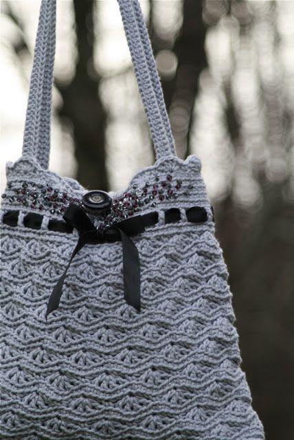 crochet bag- open in google chrome and translate pattern