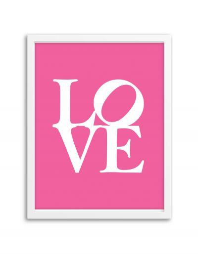 Free Printable Love Wall Art from @chicfetti #freeprintable