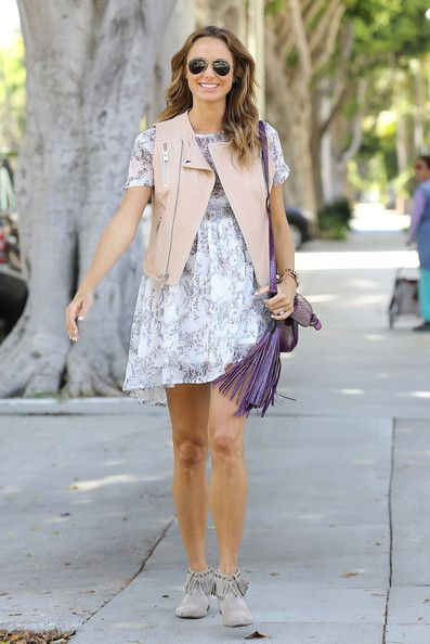 Pregnant Stacy Keibler spotted out in Los Angeles
