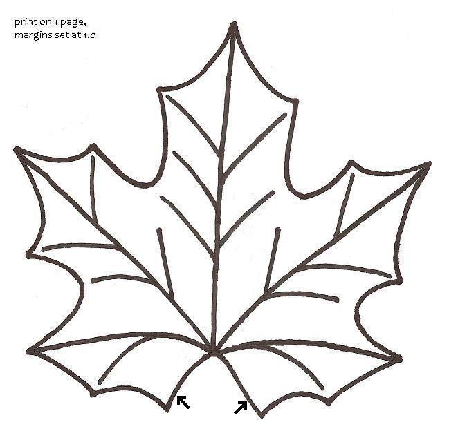 Maple Leaf Taza Alfombras - Pictorial Tutorial y patrón