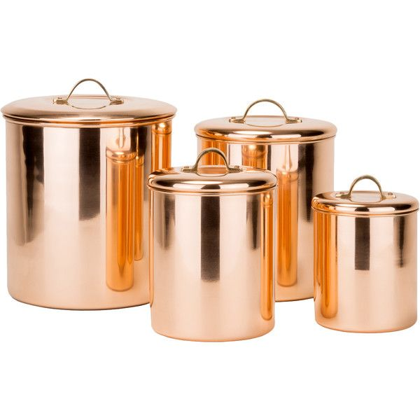 4-Piece Old Dutch Canister Set