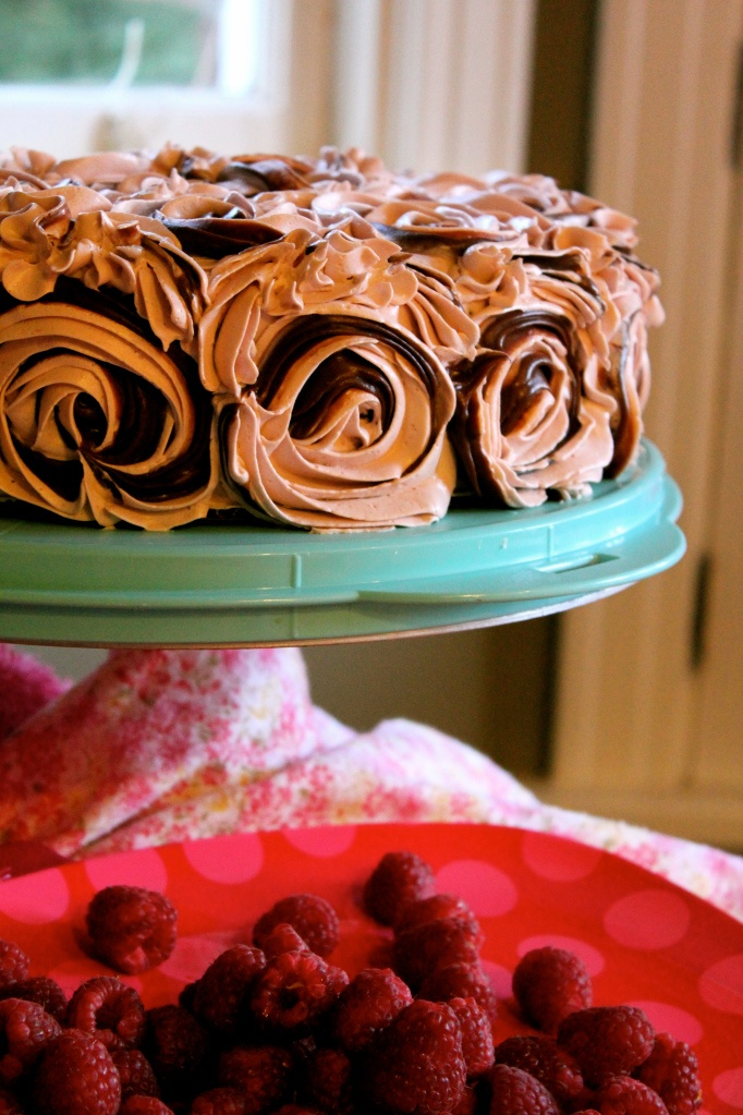 Raspberry Chocolate Layer Cake   Death by Chocolate!!!   Pinterest