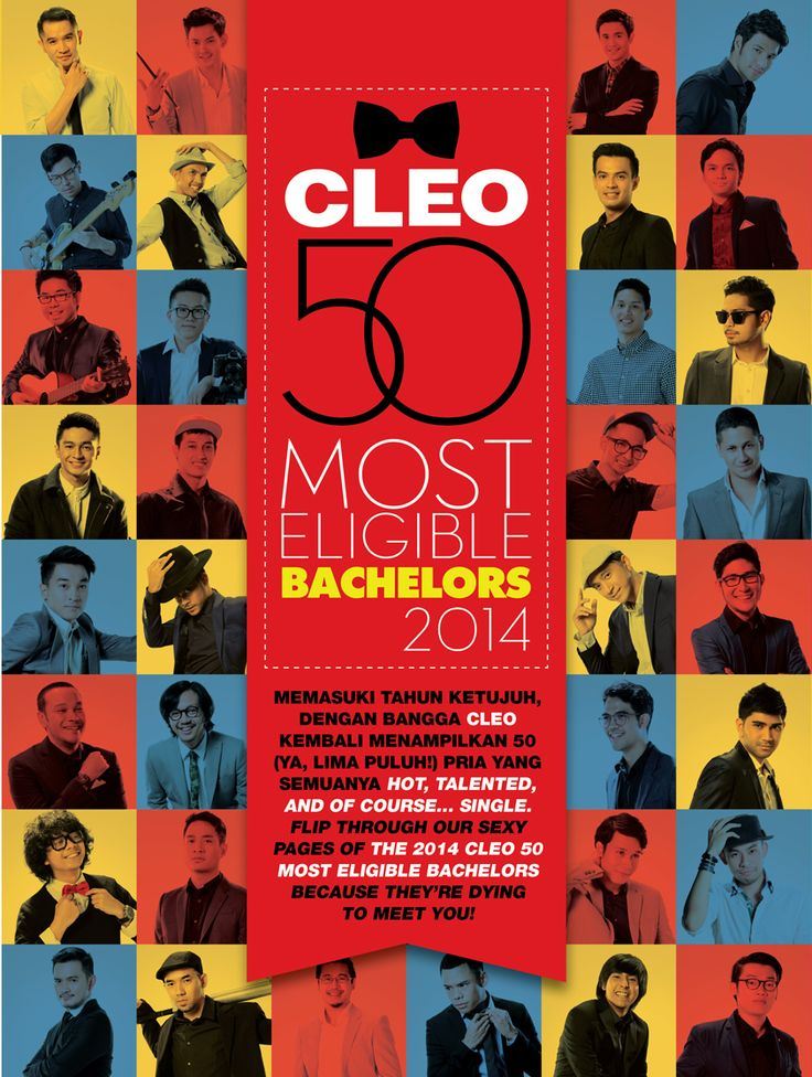 MEET CLEO 50 MOST ELIGIBLE BACHELORS 2014