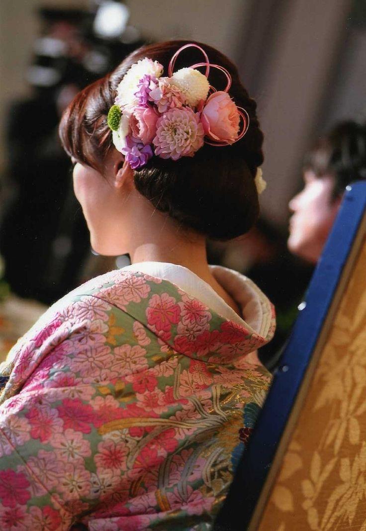 和のヘッドドレス