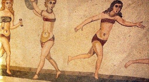 Siciliaanse meisjes in bikini
