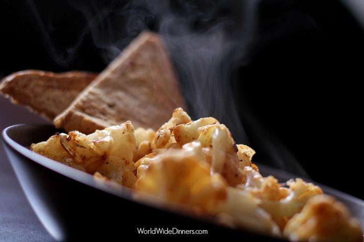 Cauliflower with Smoked Paprika/ Spanish tapas recipe