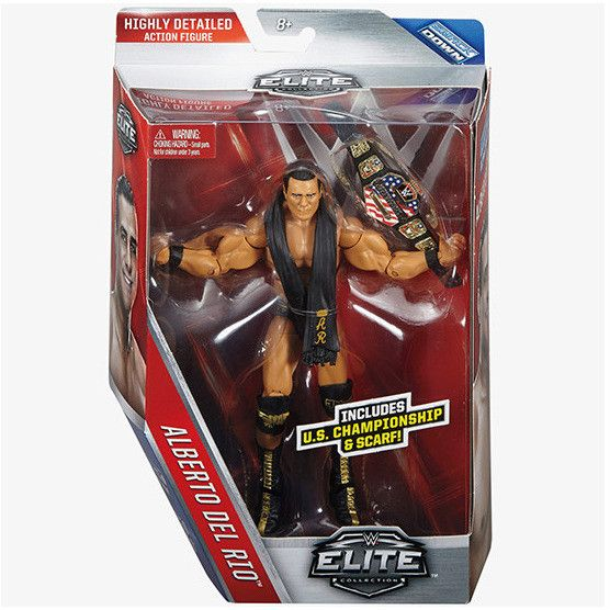 WWE Elite Collection 43 - Alberto del Rio by Mattel