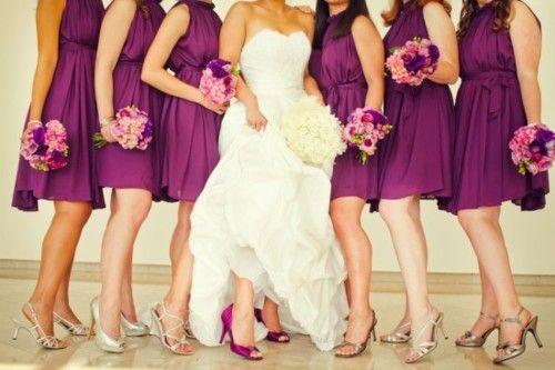 Posh Purple Wedding Inspirations