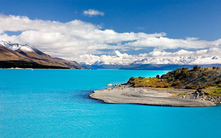 Mt Cook; the highest Mountain in NZ found in the Southern Alps of NZ