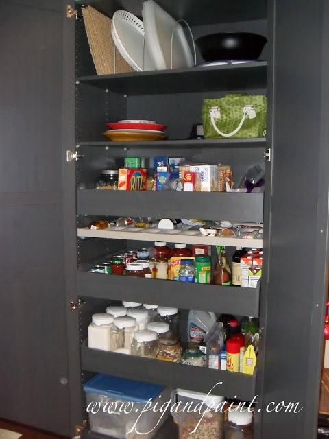 Re Purpose An IKEA Wardrobe As A Stand Alone Kitchen Pantry: Super  Customizable,