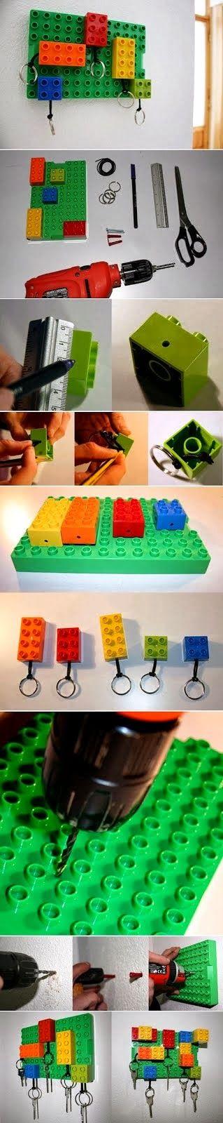 Diy Lego Key Hanger Crafts Pinterest Diy And