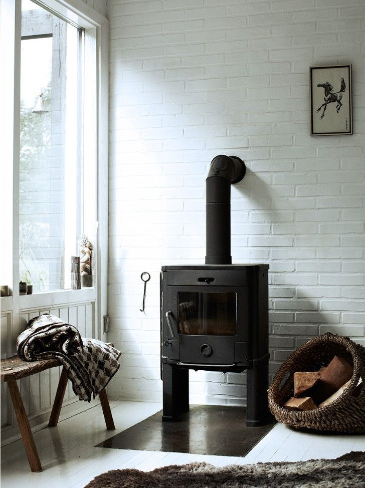 Scan Andersen 4 Wood Stove. The Stuff Of LIfe By Hilary Robertson,  Photography By
