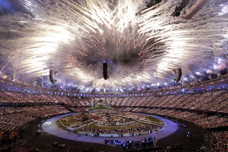 Fireworks exploded during the Opening Ceremony at the 2012 Summer Olympics in London July 27. Photos of the Year 2012 - The Wall Street Journal
