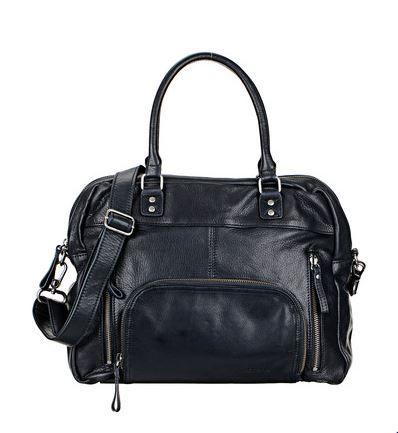 Sac cuir noir Megan Nat & Nin prix Sac à main Monshowroom 245,00 €